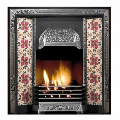 Galway Tiled Fireplace Insert