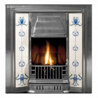 Prince Tiled Fireplace Insert