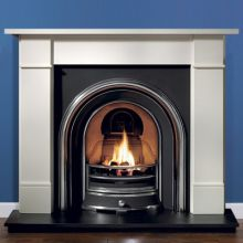 Marble and Cast Iron Fireplace Packages