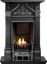 Daisy Cast Iron Fireplace Combination
