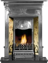 Fulham Cast Iron Fireplace Combination Polished
