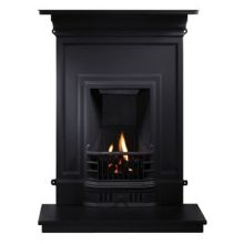 Barcelona Cast Iron Fireplace Combination