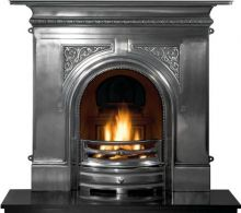 Pembroke Cast Iron Fireplace Combination Polished