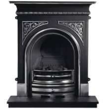 Celtic Cast Iron Fireplace Combination