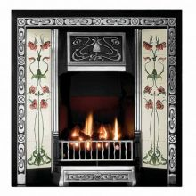 Northmoor Tiled Fireplace Insert